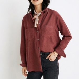Madewell Flannel Sunday Shirt M